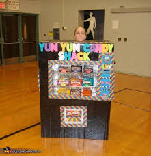 Vending Machine Costume Mesmerizing Homemade Vending Machine Costume