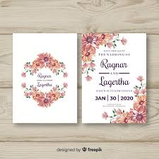 Wedding Invitation Templates With Photo Wedding Invitation Vectors Photos And Psd Files Free Download