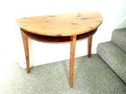 half round table ikea full size of small round glass dining table half circle and chairs