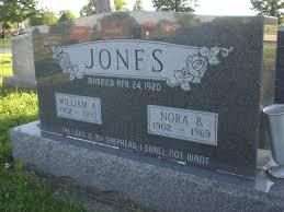 Nora Bell Montgomery Jones (1902-1969) - Find A Grave Memorial