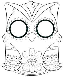 Free Printable Owl Coloring Pages Owl Coloring Pages Baby Owl