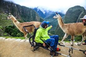 Image result for machu picchu wheelchair