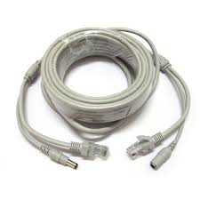aliexpress com buy 30m 100ft rj45 cable dc 12v power cat5 cat how to connect cat5 cable to cctv security camera at Cat 5 Wiring Power