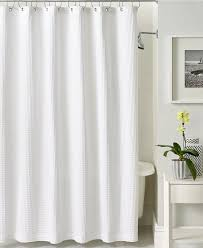 Macys Curtains For Living Room Hotel Collection Bath Accessories Waffle Shower Curtain Shower