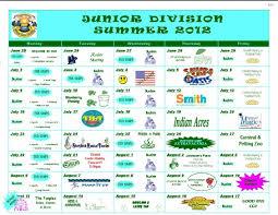 Summer Camp Calendar Template Forms Calendars Camp Gan