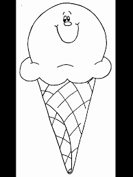 Icecream2 Summer Coloring Pages & Coloring Book