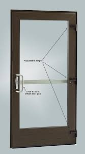 stiles and rails are 4 5 8 inches as standard with an option kolbe teutonic series commercial entrance doors