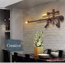 creative home lighting. 2018 Loft Industrial Wall Lights For Restaurant/Bar/Aisle/Corridor/Balcony Vintage Water Pipe Lamps Creative Home Dec Lighting From Simple88, E