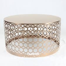 great round gold coffee table with throughout decor 10