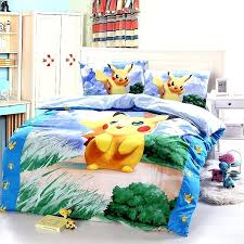 Pokemon Bedroom Set Bedding Set Cotton Density Printed Pattern Duvet Cover  Set Pillowcase Cartoon Bedroom Sets