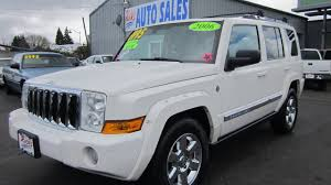 2006 JEEP COMMANDER LIMITED 4X4 SOLD!! - YouTube