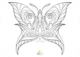 Printable Butterfly Coloring Page Printable Butterfly Coloring Pages