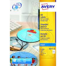 Avery Labels Dvd Avery Full Face Cd Dvd Labels 117mm Diameter J8676 100 200 Labels