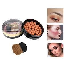 Hot <b>1pc</b> Makeup Face Matte <b>Blusher</b> Ball 3 In 1 <b>Blush</b> Eyeshadow ...