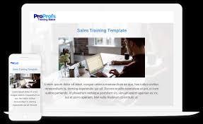 Sales Training Template Free Sales Training Templates Create Sales Training Plan
