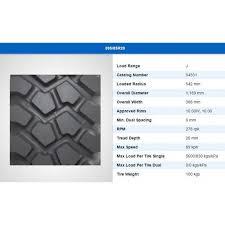 Michelin Tyre Size Chart 395 85r20 Michelin Xzl New Vrakking Tires