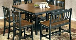 square dining table for 6 exclusive ideas 8 person square dining table room round large size