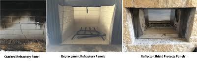A Plus Inc  Lennox Fireplace BrickFireplace Refractory Panels
