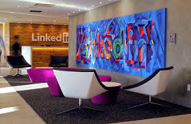 linkedin new york office. linkedin nyc office mural sam rodriguez silicon valley art new york