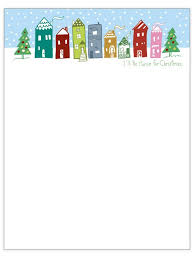 Christmas Note Template Holiday Templates For Word Free 9 Certificates Rapic Design
