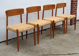 Scandinavian Teak Bedroom Furniture Danish Modern Teak Dining Room Chairs Mid Century Modern On