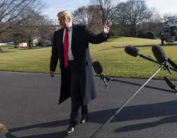 Trump heads to Camp David as shutdown ...
