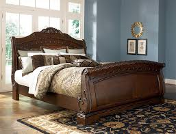 black upholstered sleigh bed. Bedroom:White Upholstered Sleigh Bed Solid Wood White Frame Cheap Wooden Double Frames Black