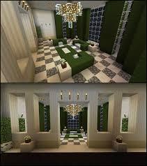 Minecraft Interior Design Living Room Minecraft Green Living Room Furniture Curtains Chandelier