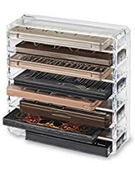 byalegory acrylic palette makeup organiser with removeable
