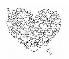 Small Picture Big Heart coloring page for kids for girls coloring pages