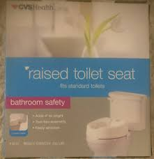 raised toilet seat ebay