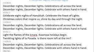 December Nights December Lights Song 1 December Lights December Nights