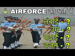 Height And Weight Chart For Air Force Females Indian Air Force Height And Weight Chart For Females