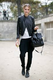 leather jackets for women street style 13