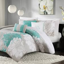 madison park lola 6 piece printed duvet cover