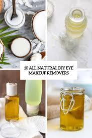 10 all natural diy eye makeup removers