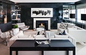 how to decorate your living room best living room white walls black