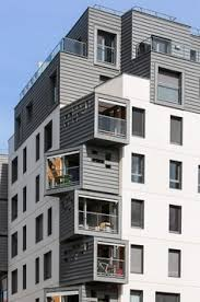 modern urban residential architecture. Fine Architecture An Modern Urban Infill Project In IssylesMoulineaux France The Exterior With Modern Urban Residential Architecture I