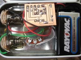 lm741 op amp headphone amplifier circuit schematic tech tut internal view of the altoids tin