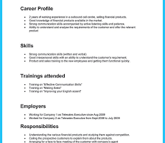 Resume Example Call Center Samples Excellent Templates For Agents ...