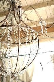 rustic wire chandelier world market