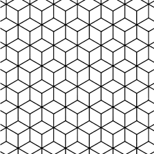 coloring pages patterns. Modren Pages Geometric Tessellation With Rhombus Pattern Coloring Page On Coloring Pages Patterns A