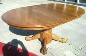 oak pedestal tables oak pedestal table and chairs antique round oak pedestal dining table inch round