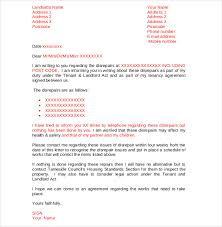 notice to tenant to make repairs templates 9 tenant complaint letter templates free sample example format
