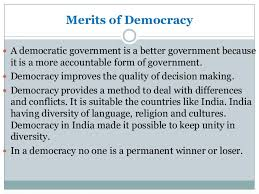 democracy vs dictatorship types of government 9 merits of democracy iuml130151 democracy is better than other forms of government