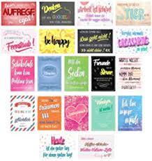 20 Postkarten Mit Sprüchen I Din A6 I Spruch Karten Set Lustig