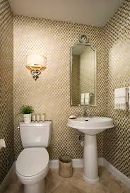 I think the main powder room of a house should have a little sophistication  and at the very least a bit of flair! I know many decorators li.