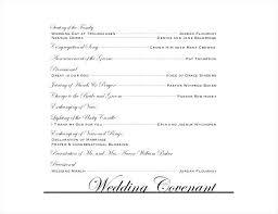Vintage Wedding Program Templates Free Printable Programs Template