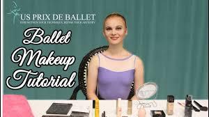 professional ballet makeup tutorial