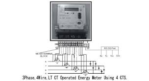 lt ct operated trivector meters from hpl displays tamper data wiring arrangment